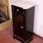 Walnut Louis Philippe nightstand restoration