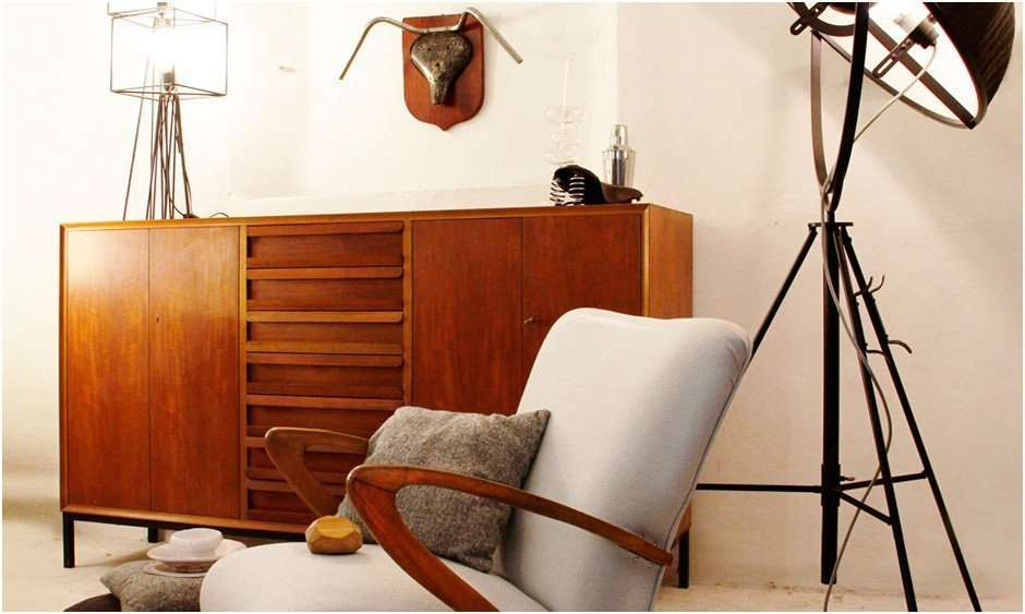 Muebles antiguos moderno (de 1950 en adelante)